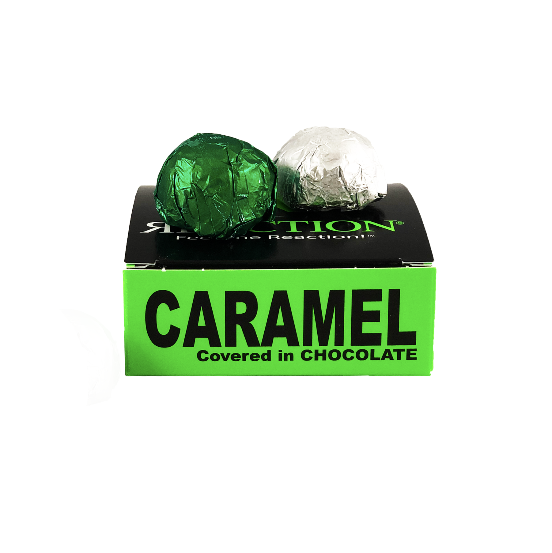 Caramel Covered Chocolates 40mg - 4-Pack